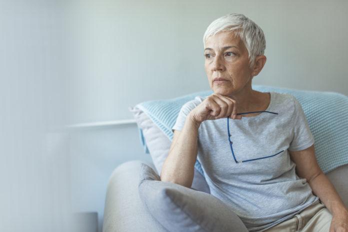 pensive woman long-term care benefits